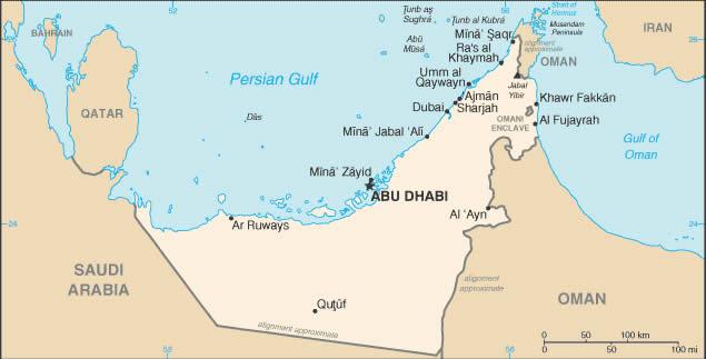 Abu Dhabi Information – Abu Dhabi Map